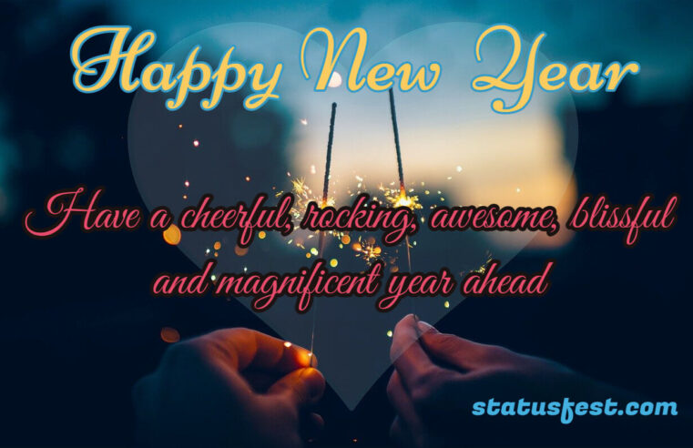 New Year Greeting & quotes